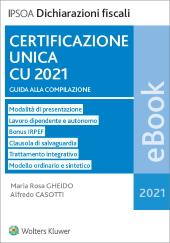 eBook - Certificazione unica CU 2021
