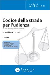 eBook - Codice della strada per l'udienza