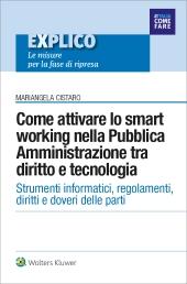 eBook - Come attivare lo smart working nella Pubblica Amministrazione tra diritto e tecnologia