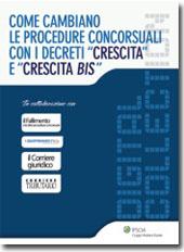 """eBook - Come cambiano le procedure concorsuali con i decreti """"Crescita"""" e """"crescita bis"""""""