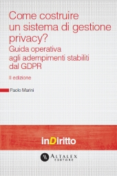 eBook - Come costruire un sistema di gestione privacy?