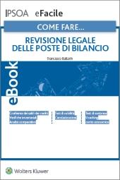 eBook - Come fare...Revisione legale delle poste di bilancio