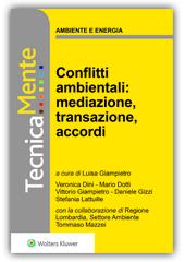 eBook - Conflitti ambientali: mediazione, transazione, accordi