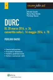 eBook - DURC - Documento unico di regolarità contributiva