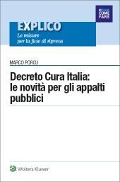 eBook - Decreto Cura Italia:  le novità per gli appalti pubblici