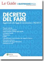 eBook - Decreto del fare