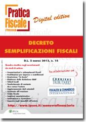 eBook - Decreto semplificazioni fiscali