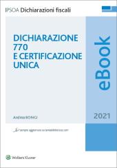 eBook - Dichiarazione 770 e Certificazione unica 2021