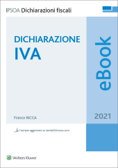 eBook - Dichiarazione IVA 2021