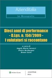 eBook  - Dieci anni di performance - D.Lgs. n. 150/2009 - I valutatori si raccontano