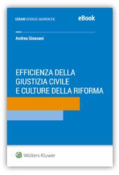 eBook - Efficienza della giustizia e culture della riforma