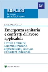 eBook - Emergenza sanitaria e contratti di lavoro applicabili
