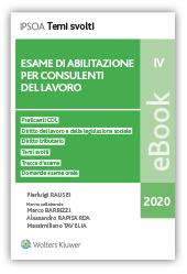 eBook - Esame di abilitazione per consulenti del lavoro