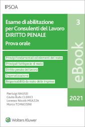 eBook - Esame di abilitazione per consulenti del lavoro - diritto penale