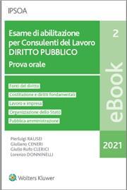 eBook - Esame di abilitazione per consulenti del lavoro - diritto pubblico