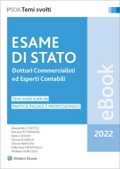 eBook - Esame di stato dottori commercialisti ed esperti contabili