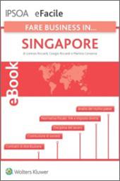 eBook - Fare Business in... Singapore