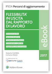 eBook - Flessibilità in uscita dal rapporto di lavoro