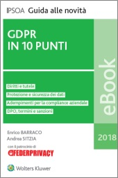 eBook - GDPR in 10 punti