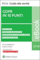 eBook - GDPR in 10 punti