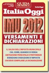 eBook - IMU 2012 - Versamenti e dichiarazioni