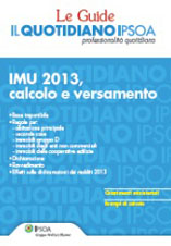 eBook - IMU 2013, calcolo e versamento
