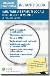 eBook - IMU, TARSU e tributi locali nella manovra Monti