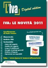 eBook - IVA: Le novità 2011