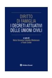 eBook - I decreti attuativi sulle unioni civili