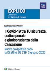 eBook - Il Covid 19 tra TU sicurezza, codice penale e giurisprudenza della Cassazione