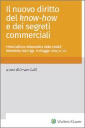 eBook - Il Nuovo Diritto del know-how e dei segreti commerciali