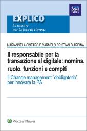eBook - Il responsabile per la transazione al digitale: nomina, ruolo, funzioni e compiti.