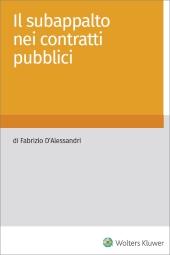 eBook - Il subappalto nei contratti pubblici