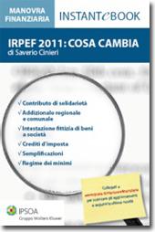 eBook - Irpef 2011: cosa cambia
