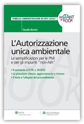 eBook - L'Autorizzazione unica ambientale