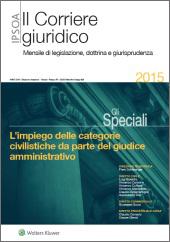 eBook - L'impiego delle categorie civilistiche da parte del giudice amministrativo