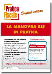 eBook - La Manovra Bis in pratica