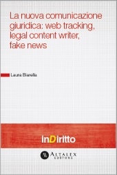 eBook - La Nuova Comunicazione Giuridica: Web Tracking, Legal Content Writer, Fake News