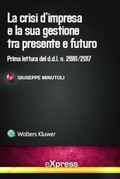 eBook - La crisi d'impresa e la sua gestione tra presente e futuro