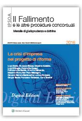 eBook - La crisi d'impresa nel progetto di riforma