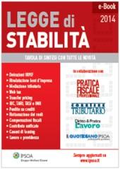 eBook - La legge di stabilità 2014