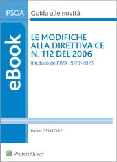 eBook - Le Modifiche alla Direttiva Ce N. 112 del 2006