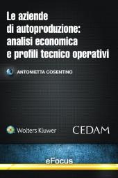 eBook - Le aziende di autoproduzione: analisi economica e profili tecnico-operativi
