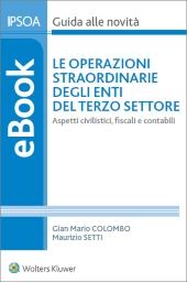 eBook - Le operazioni straordinarie degli Enti del terzo settore