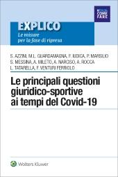 eBook - Le principali questioni giuridico-sportive ai tempi del covid-19