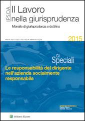 eBook - Le responsabilità del dirigente nell'azienda socialmente responsabile