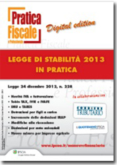 eBook - Legge di stabilità 2013 - In Pratica