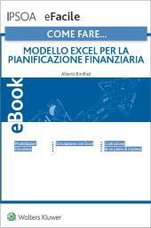 eBook - Modello excel per la pianificazione finanziaria