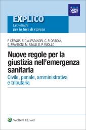 eBook - Nuove regole per la giustizia nell'emergenza sanitaria
