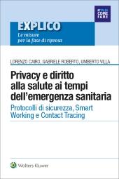 eBook - Privacy e diritto alla salute ai tempi dell'emergenza sanitaria